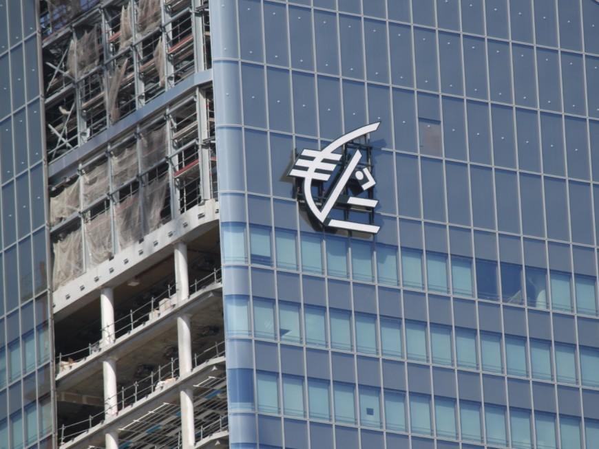 Lyon : un logo géant sur la tour InCity