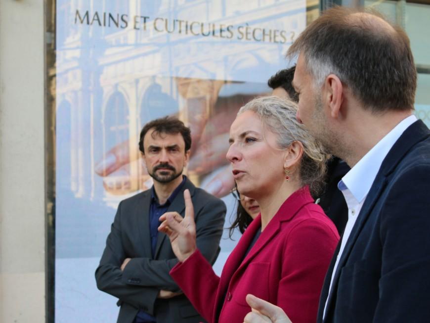 """Avec Delphine Batho, Bruno Bernard (EELV) dit """"non"""" aux écrans publicitaires à Lyon"""