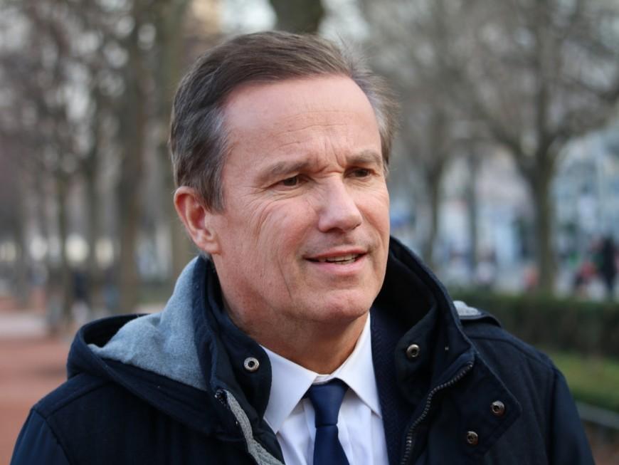 Nicolas Dupont-Aignan à Lyon… pour ne soutenir personne en 2020