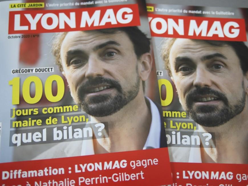 Les 100 premiers jours du maire Grégory Doucet en Une de LyonMag !