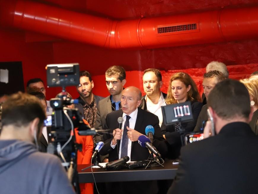 Péage de transit, bien-être en ville : Gérard Collomb lance sa campagne pour la Métropole de Lyon - VIDEO