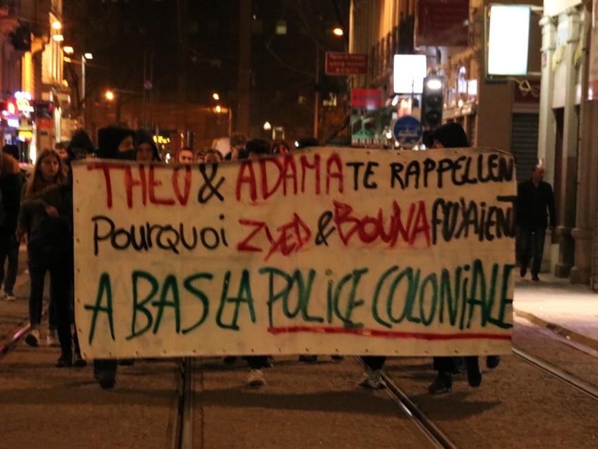 """Lyon : petite affluence au rassemblement contre """"la police coloniale"""""""