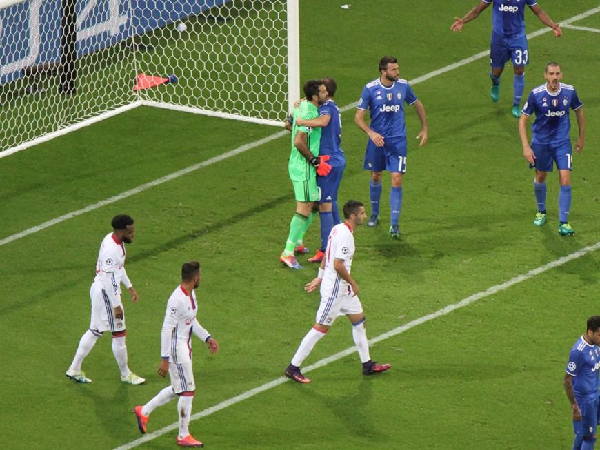 L'OL gâche toutes ses chances face à la Juventus de Turin (0-1)