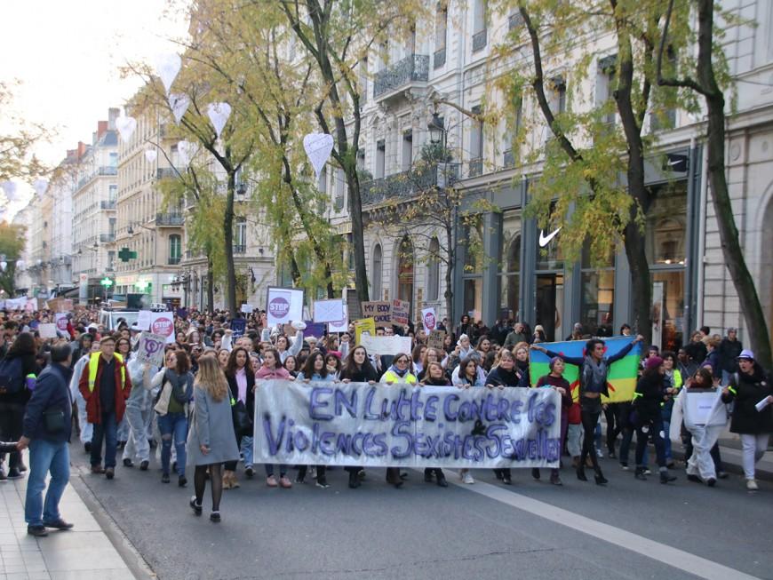 3000 personnes dans la rue pour lutter contre les violences sexistes et sexuelles