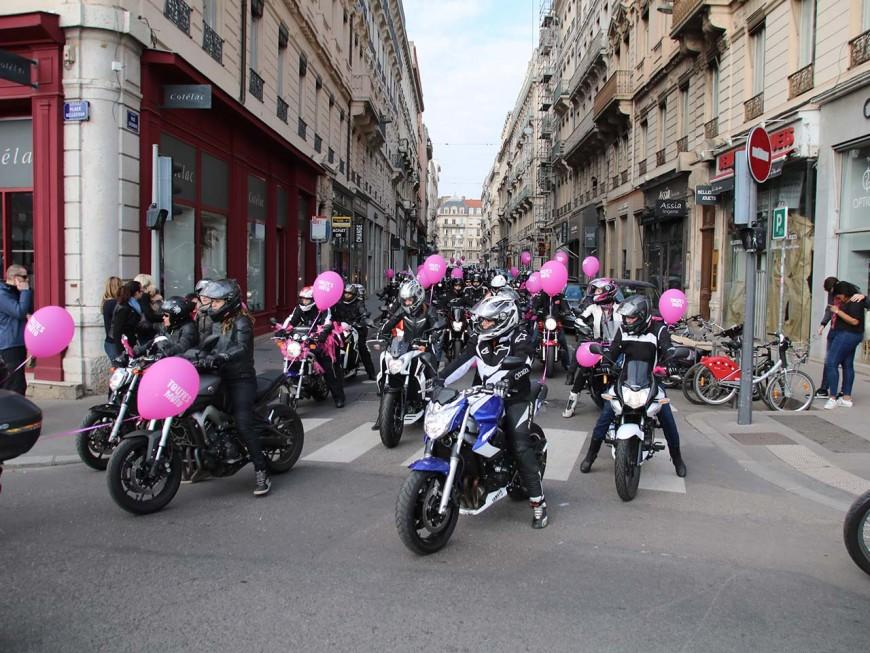 Lyon : plus de 350 motardes ont défilé pour l'égalité