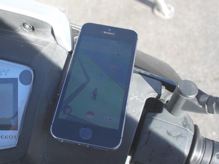 A Lyon, 52% des dresseurs Pokémon reconnaissent jouer en conduisant
