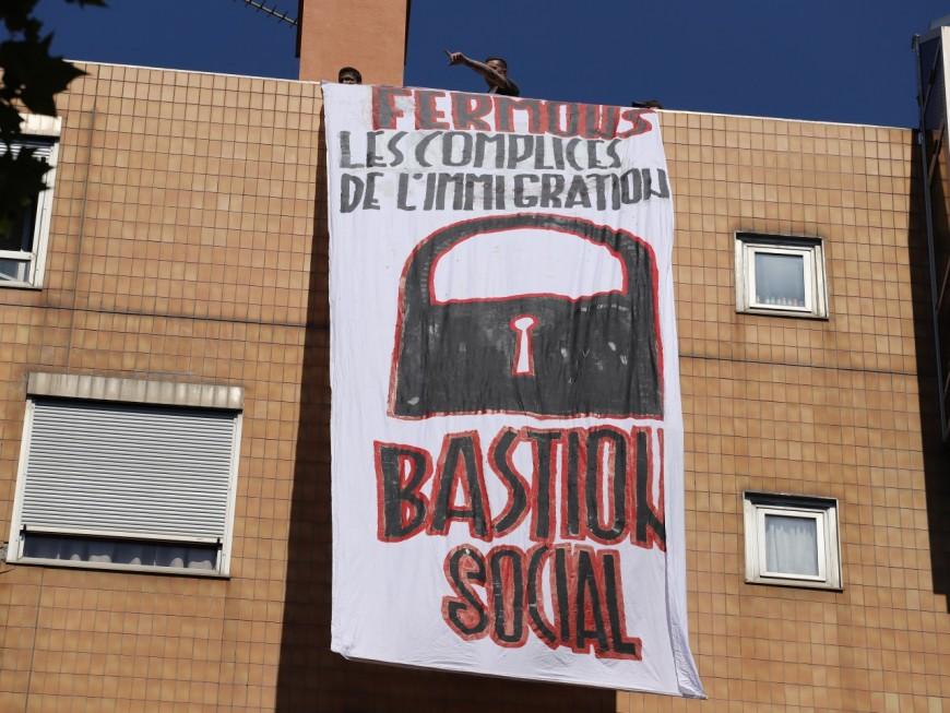 Lyon : le Bastion Social sur le toit de Forum Réfugiés