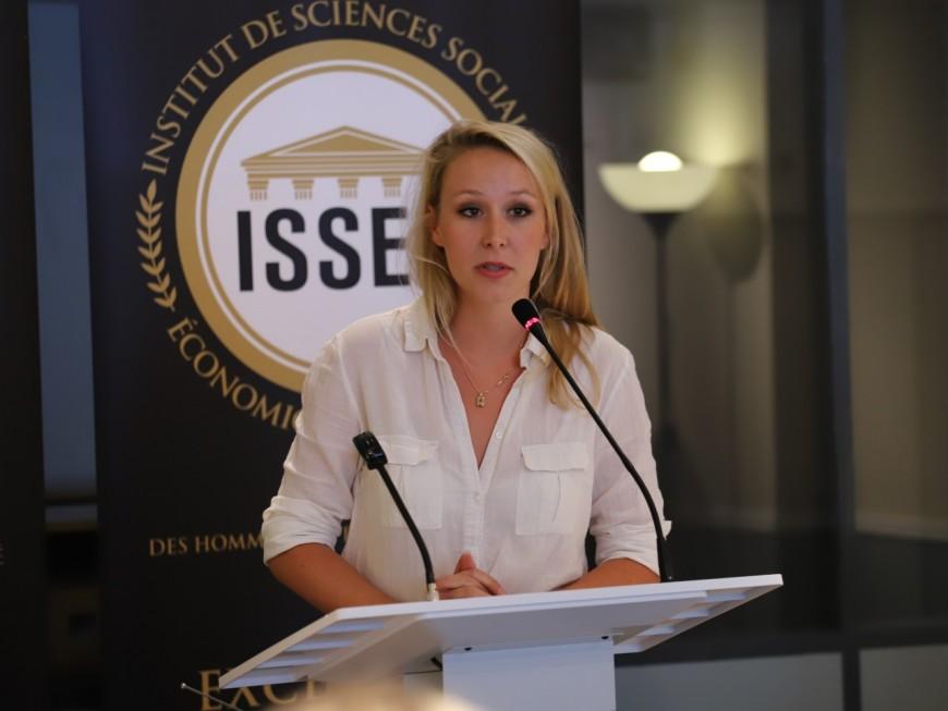 """Inauguration de l'ISSEP à Lyon : Marion Maréchal voulait """"sortir de l'entre-soi parisien"""""""