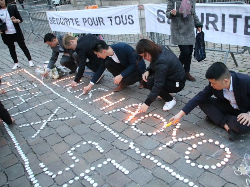 Lyon : la communauté chinoise réunie dans le silence