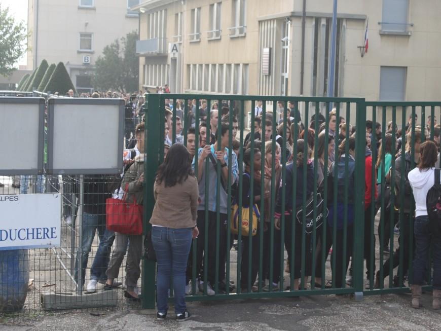 Prof agressé au lycée La Martinière à Lyon : rassemblement de soutien jeudi matin