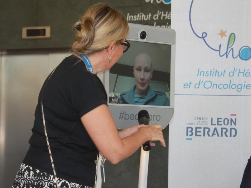 Lyon: des robots de téléprésence pour les jeunes patients en chambre stériles
