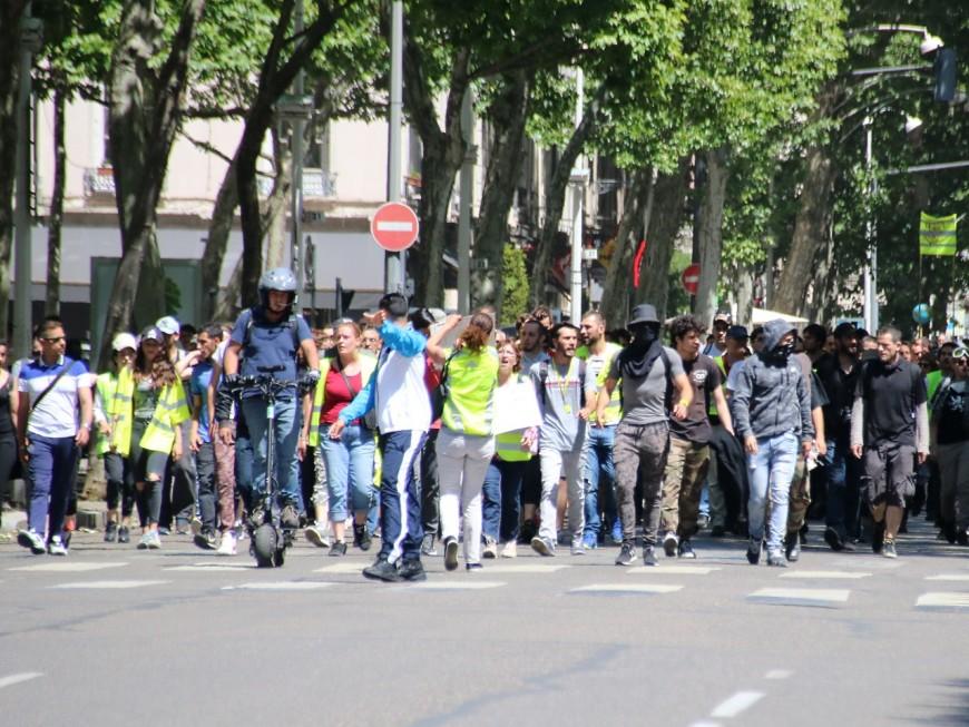 Acte 30 à Lyon : une faible participation pour les gilets jaunes