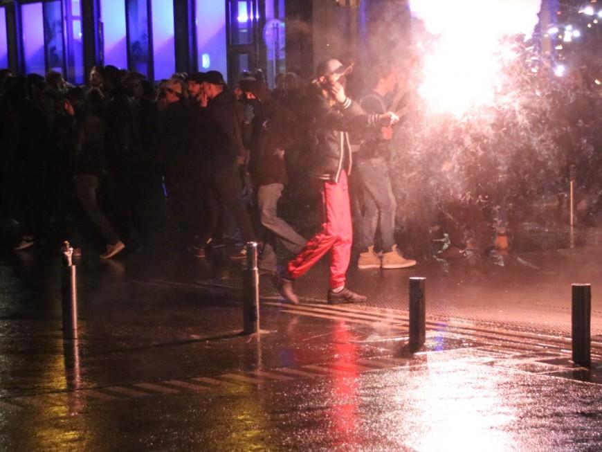 Présidentielle : les opposants à Macron ont manifesté toute la nuit à Lyon