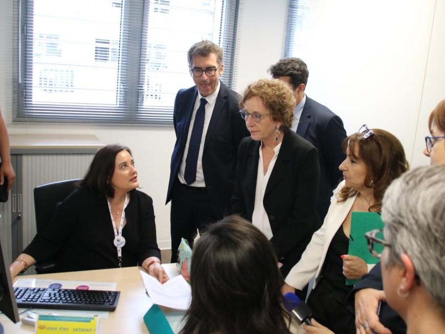 Villeurbanne : la ministre du Travail à son premier RDV Pôle Emploi