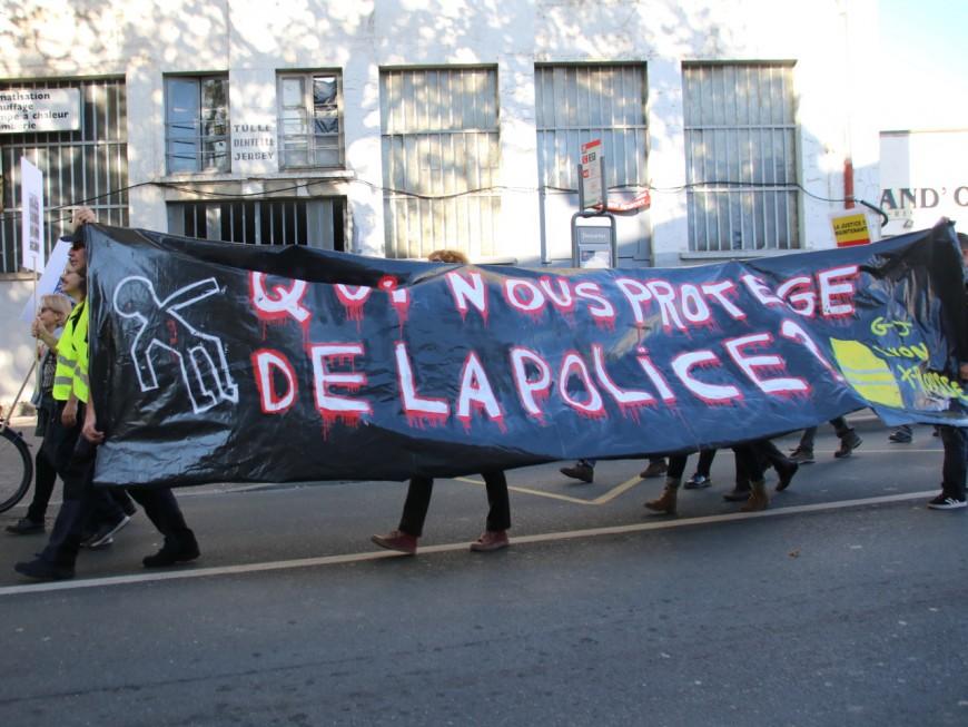 Lyon: 150 personnes pour dénoncer les violences policières