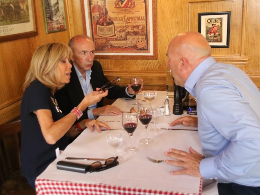 Lyon : le déjeuner entre Brigitte Macron et Gérard Collomb ce vendredi