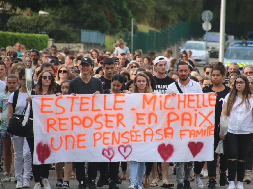 Double meurtre à Corbas : 400 personnes à la marche blanche pour Estelle et Michelle