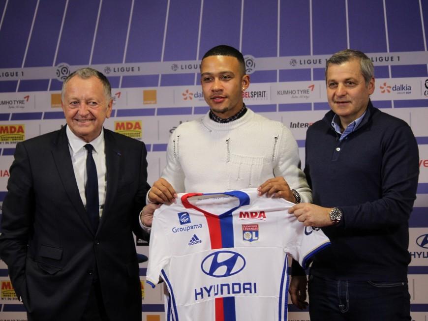 OL: Memphis Depay à Lyon, c'est officiel!