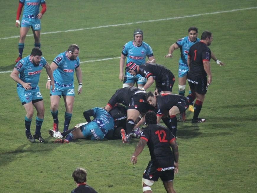 Une avalanche d'essais pour le LOU Rugby face à Grenoble (57-13)