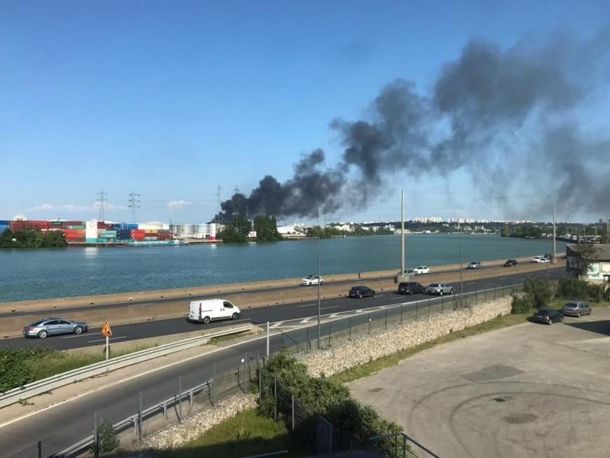 Incendie de Saint-Fons : la piste criminelle écartée