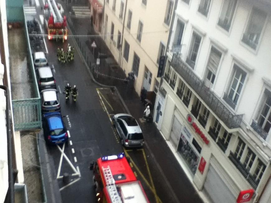 Lyon: incendie dans le deuxième arrondissement