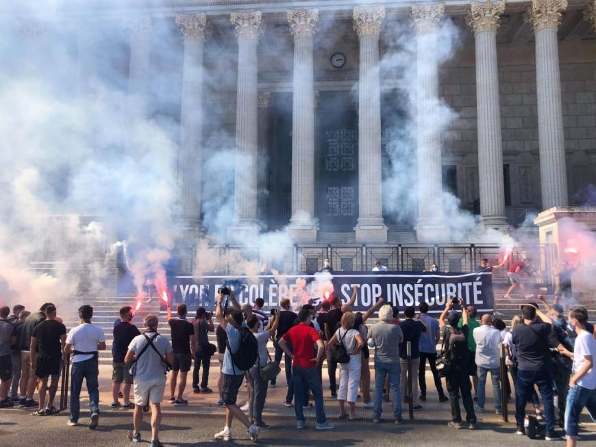 """Lyon : peu de monde à la manifestion """"contre l'insécurité"""""""