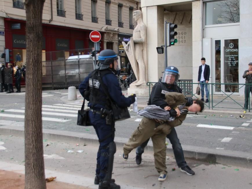 Lyon : 23 gardes à vue à l'issue de la manifestation contre la loi Travail