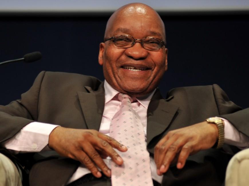 Le président de l'Afrique du Sud attendu à Lyon