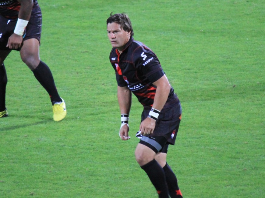 Potgieter (LOU Rugby) absent 4 mois