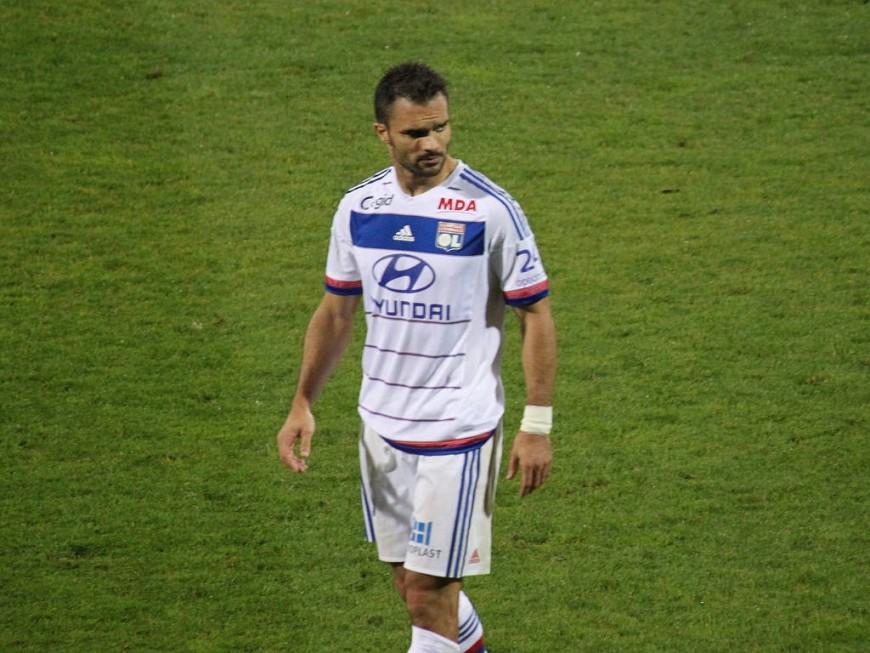 Jérémy Morel (OL) victime d'une entorse