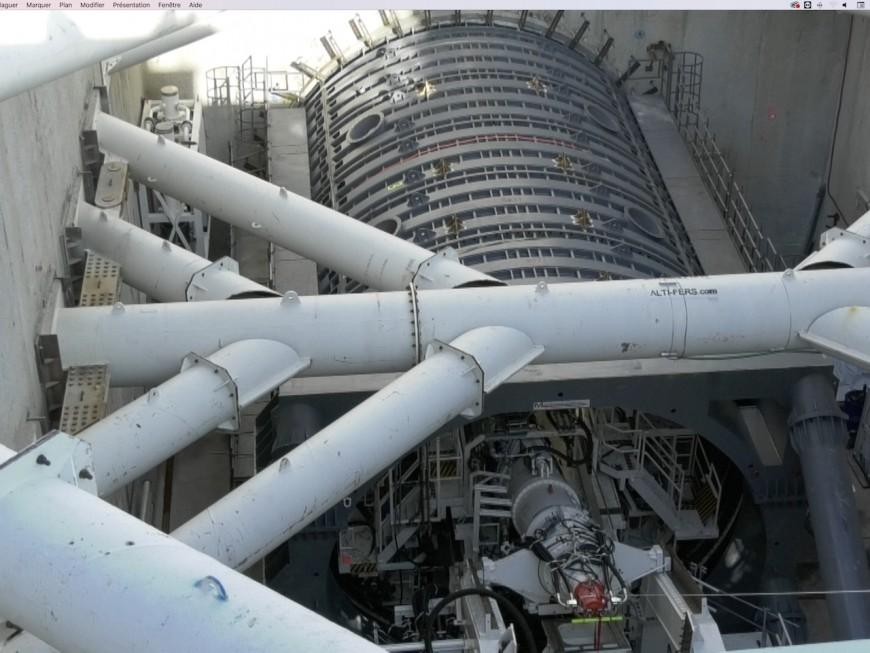 Saint-Genis-Laval : le chantier du métro B ouvert au public - VIDEO