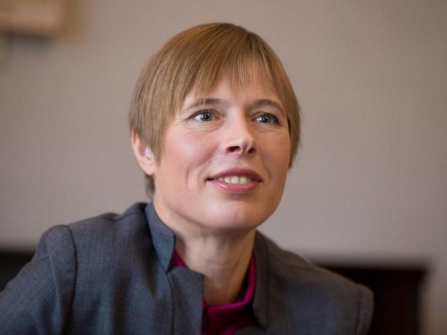La présidente estonienne attendue à Lyon mardi