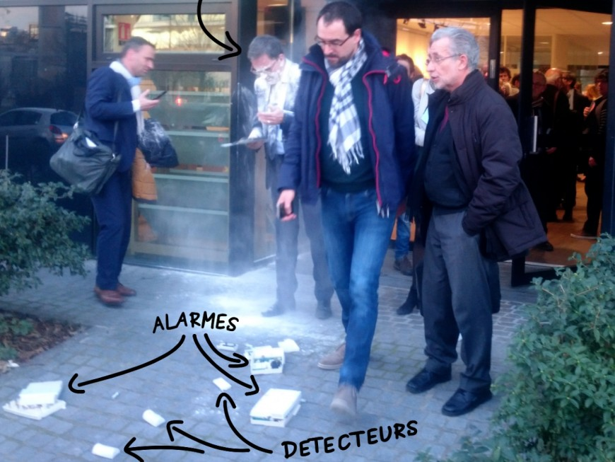 Enfarinage de David Kimelfeld : trois suspects interpellés dans un squat de Lyon
