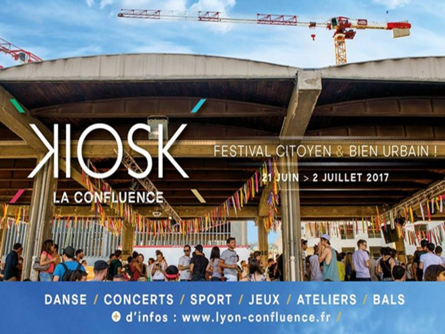 Lyon au rythme du festival KIOSK !