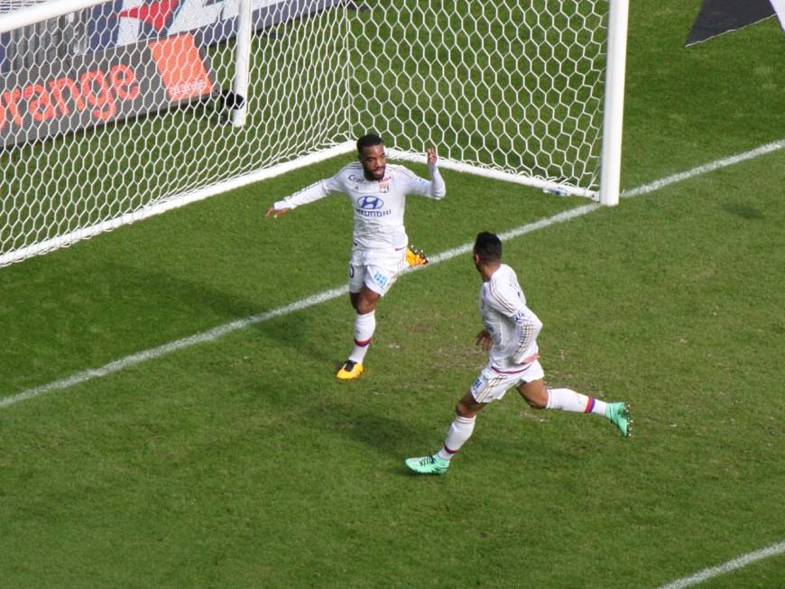 L'OL se rapproche du podium après sa victoire contre Caen (4-1) - VIDEO