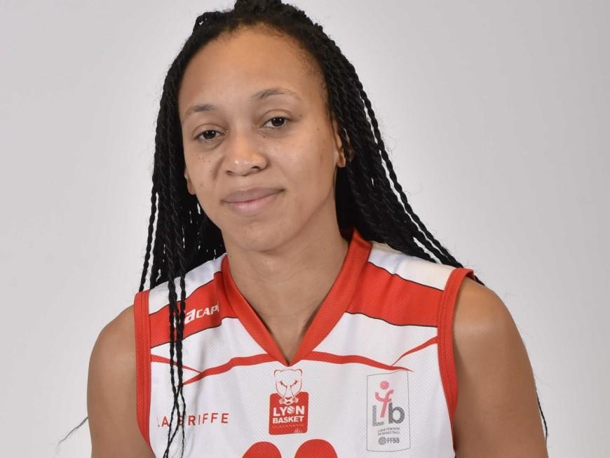 L'intérieure américaine du Lyon Basket Féminin élue Meilleure joueuse étrangère du championnat