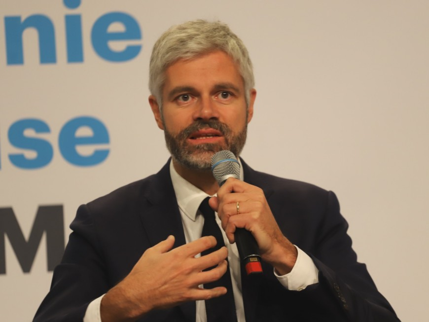Région : Laurent Wauquiez présente les dispositifs d'accompagnement des relocalisations