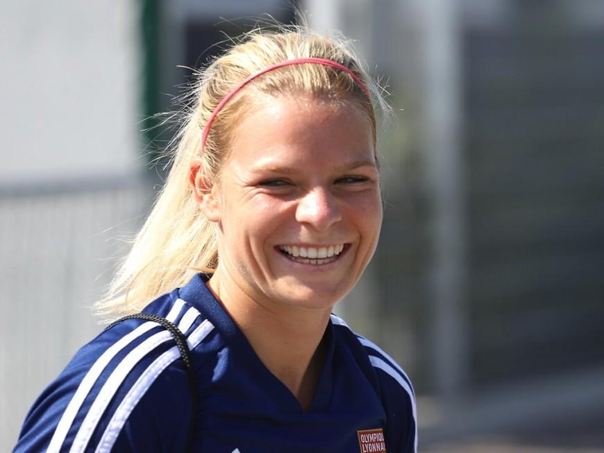 OL : Eugénie Le Sommer est désormais la meilleure buteuse de l'équipe de France