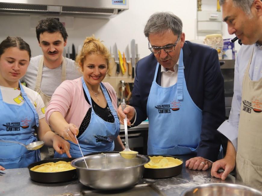 """La Métropole de Lyon organise son premier """"grand repas"""""""