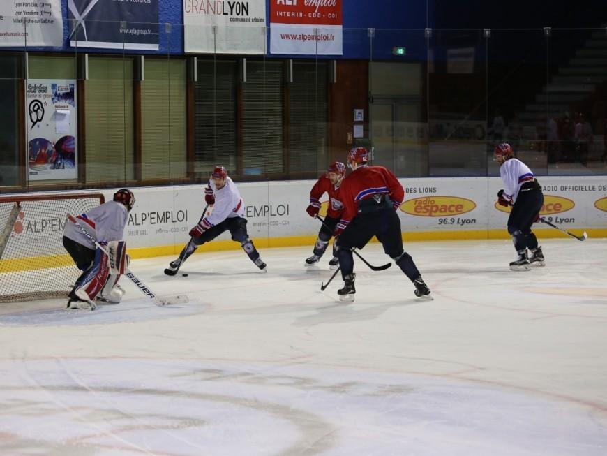 Play-offs : rendez-vous crucial à Amiens pour les hockeyeurs lyonnais