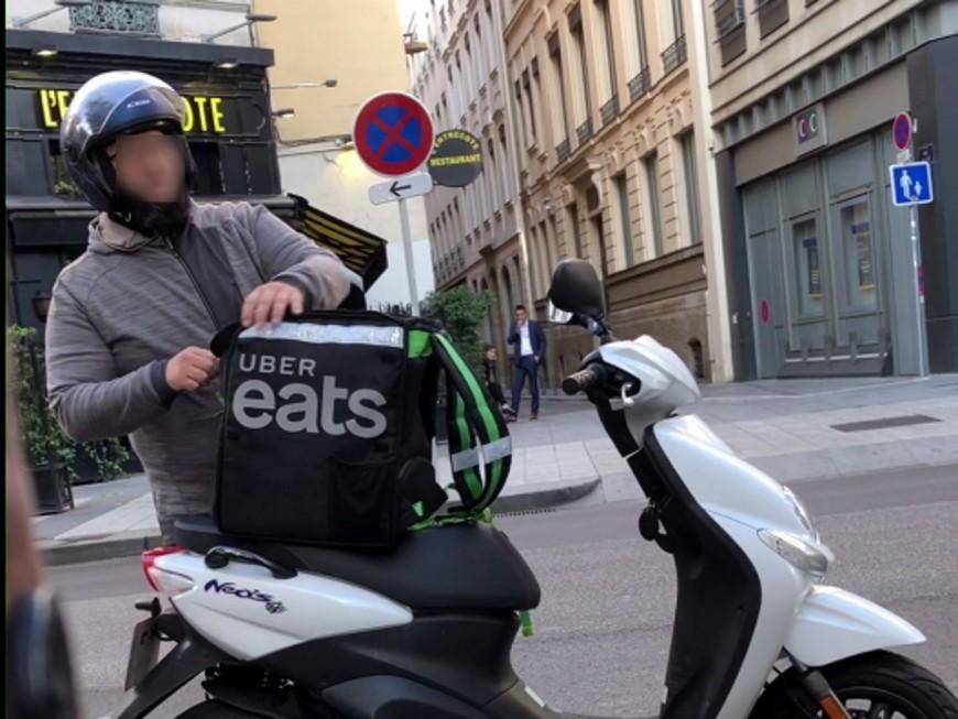 Lyon : un livreur Uber Eats filmé en pleine agression verbale homophobe