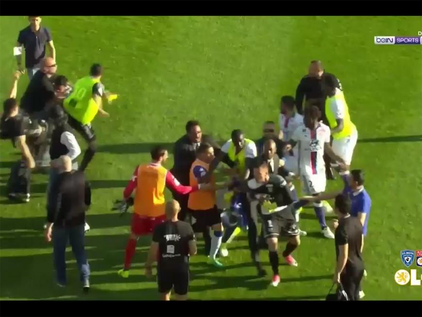 Bastia-OL : le match arrêté, des joueurs lyonnais frappés par des Corses