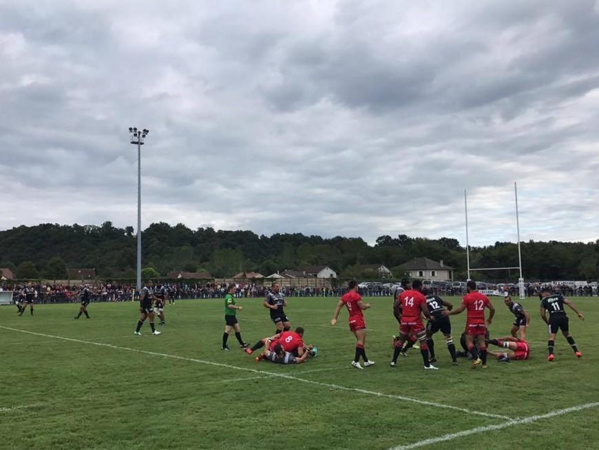 Première défaite de l'été pour le LOU rugby (38-10)
