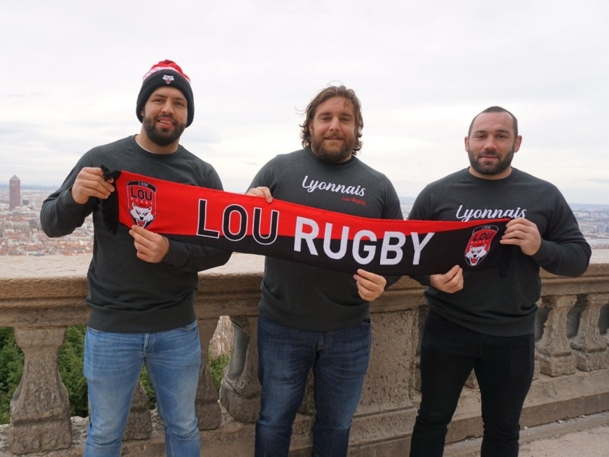 LOU Rugby: trois joueurs prolongent leur contrat