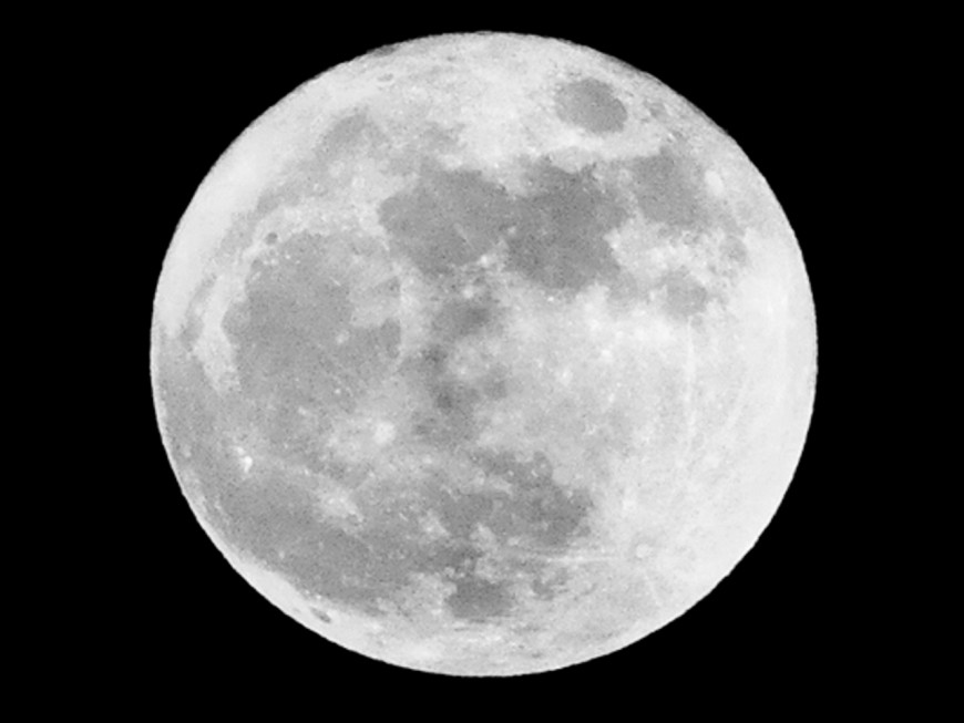 Une super Lune ce lundi dans le ciel lyonnais !
