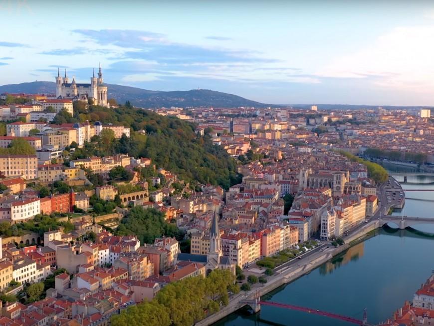 Lyon filmée en 4K pour un résultat époustouflant