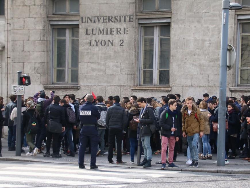 Lyon 2 : les examens maintenus, les étudiants soumis à des filtrages