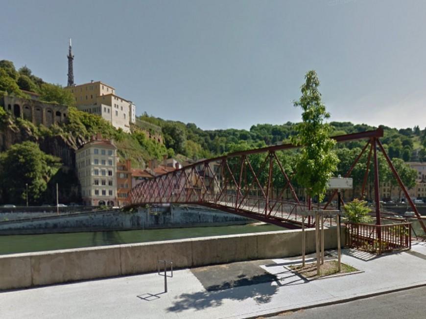 Lyon 5e : fermeture de la passerelle de l'Homme de Roche ce lundi jusqu'au 3 décembre