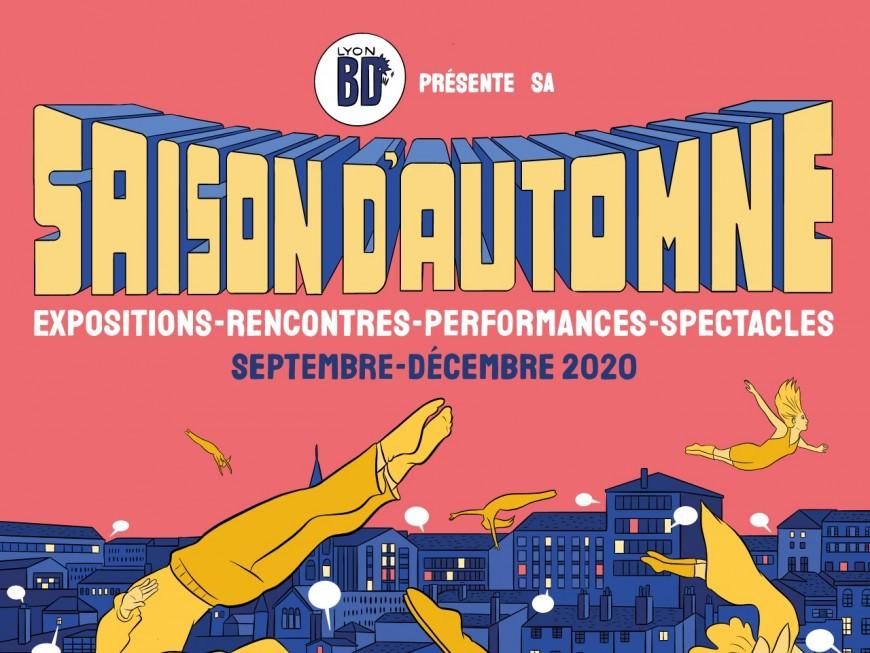 Le Lyon BD Festival se lance dans un nouveau format avec sa saison d'automne