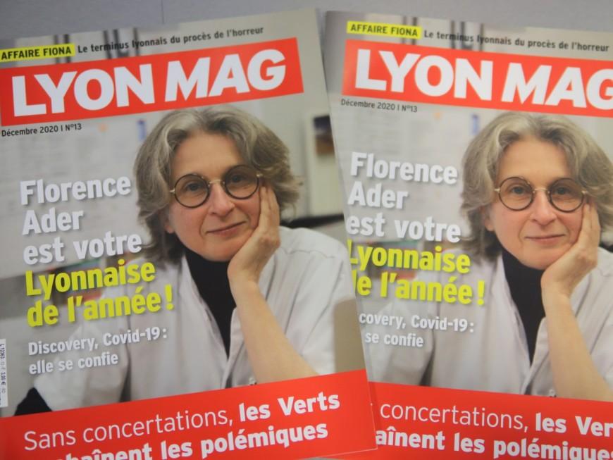 Florence Ader, Lyonnaise de l'année 2020 en Une de LyonMag !